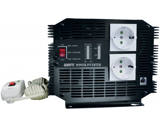 Inverter 12 V / 220 V - 4000 W