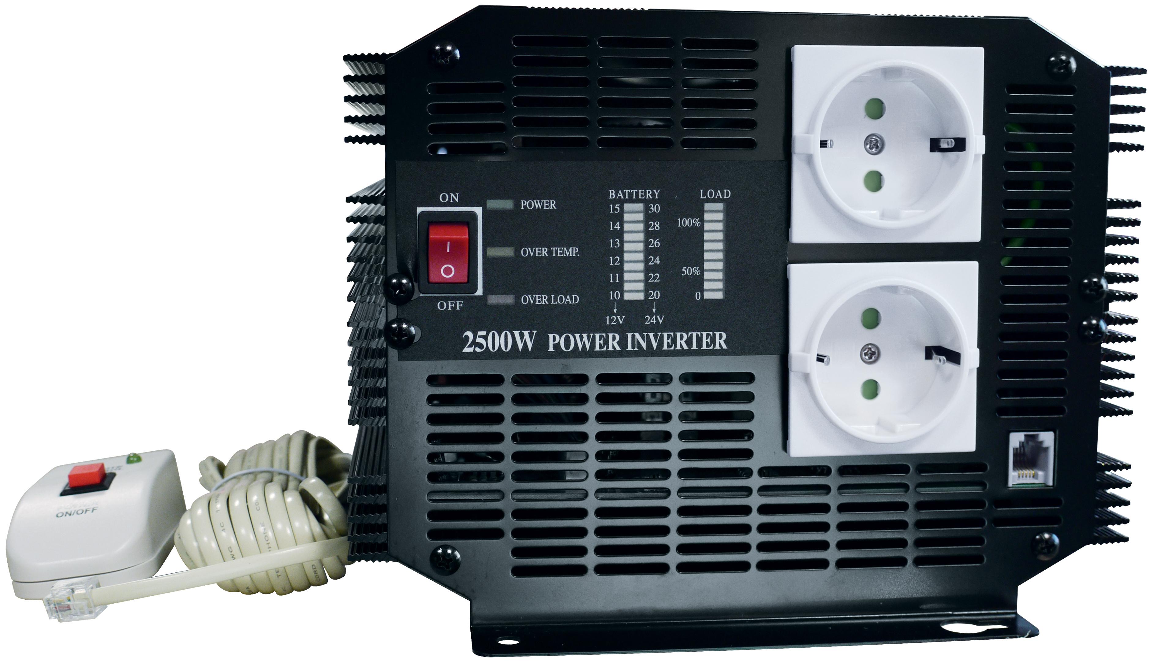 Inverter 24 V / 220 V - 2500 W