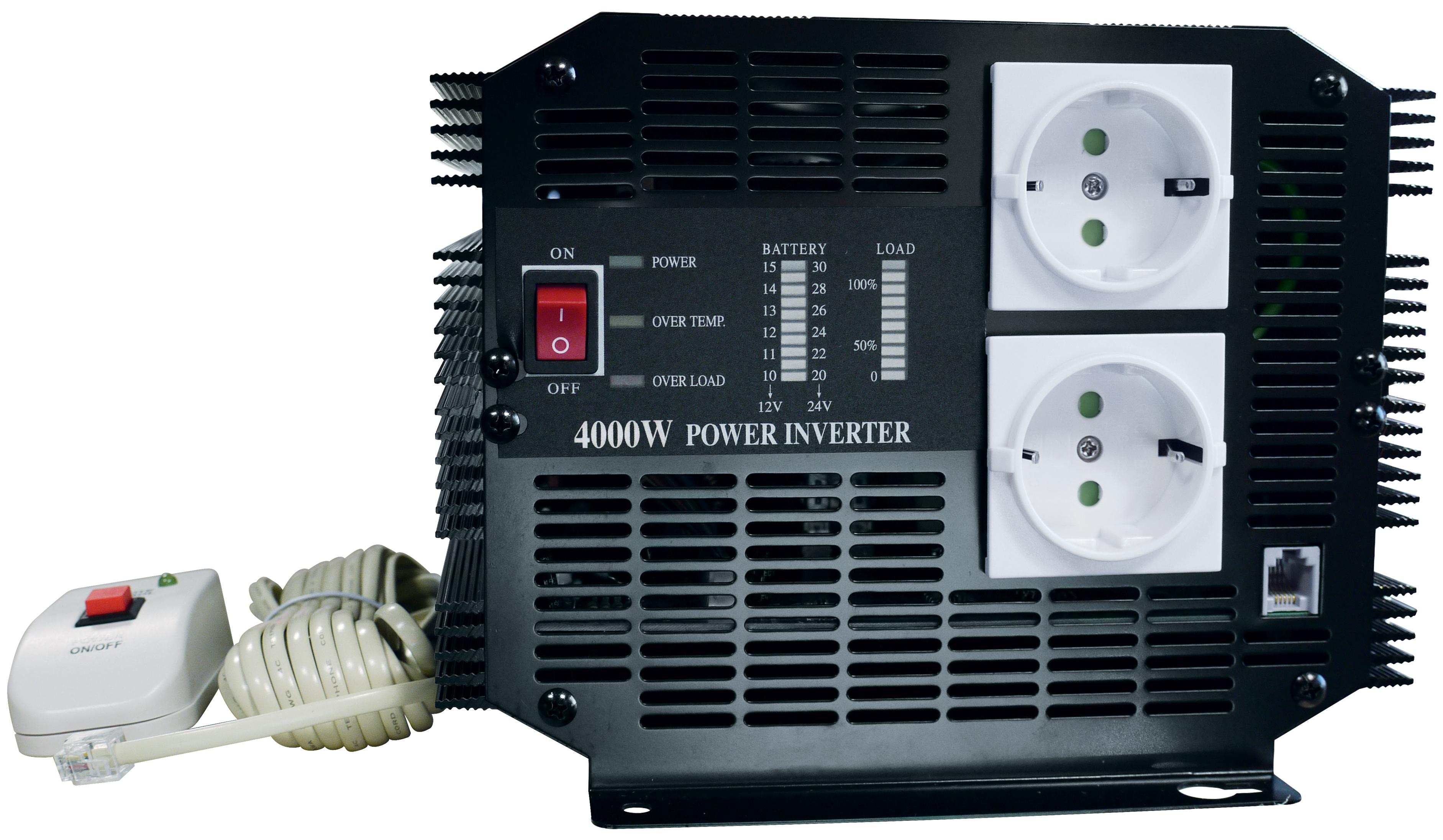 Inverter 24 V / 220 V - 4000 W