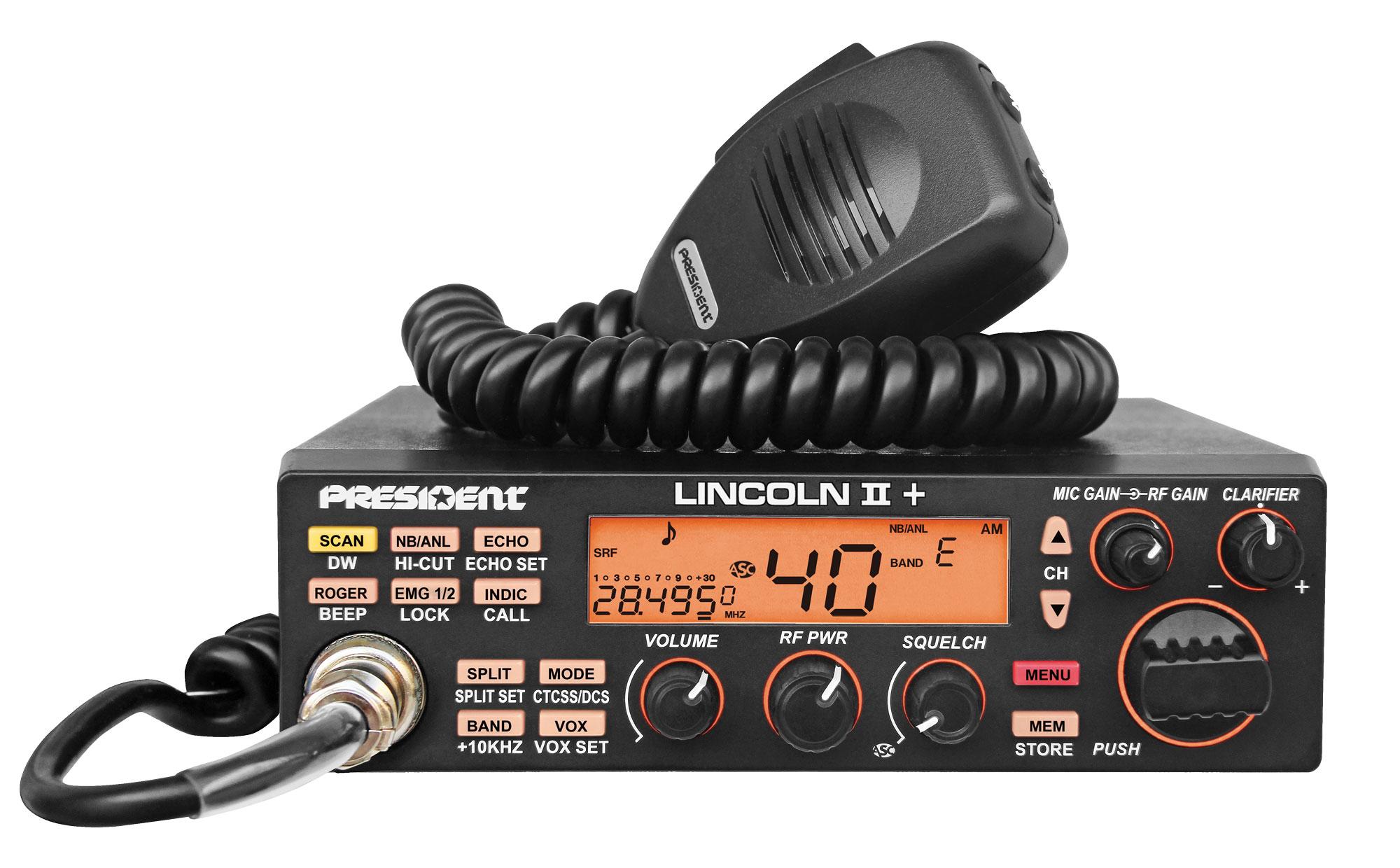 Lincoln Ii Ham Radio Cb President Electronics 79 Mark V Wiring Diagram Close