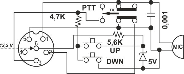 dnc 520 up  down    6 pins - micro wiring plug - useful-advices