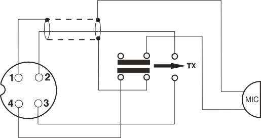 dnc 514    4 pins - micro wiring plug